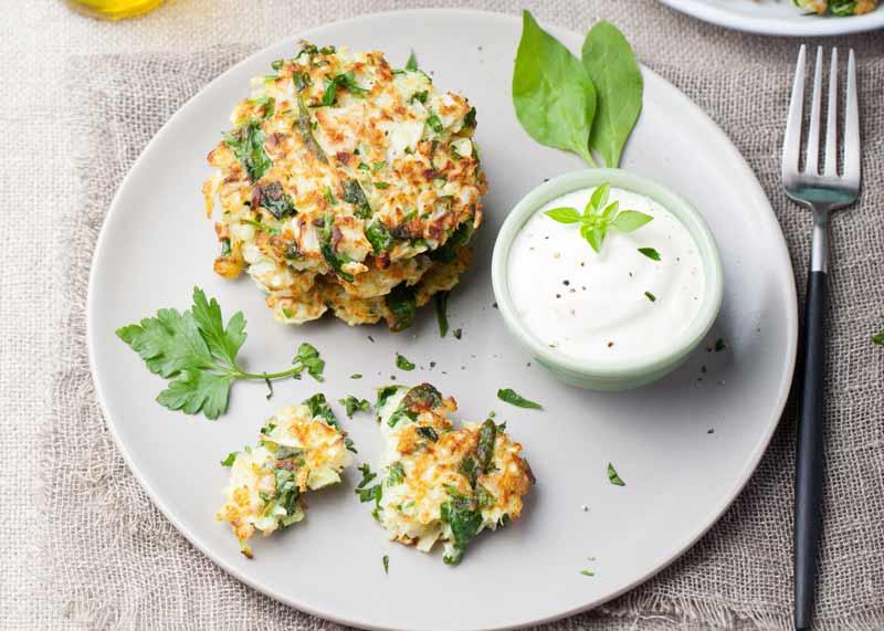 PowerSlim diet salisbury Recipe spinach courgette pancakes
