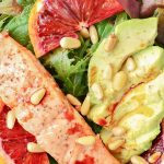 salad dish low carb high protein diet